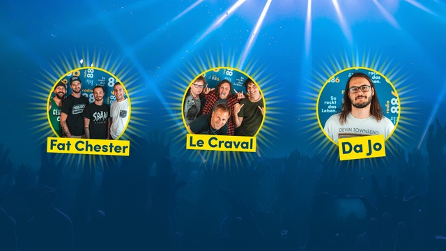 Drei Finalistenbands des Bandcontests