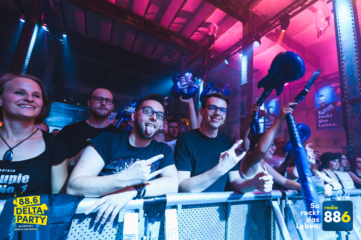 Fotos: 88.6 Delta-Party mit dem 88.6 Rock-A-Like Festival 2019